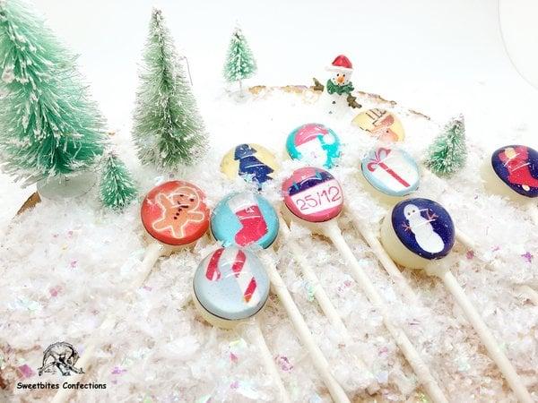 Sweet Bites Confections Customized Lollipops