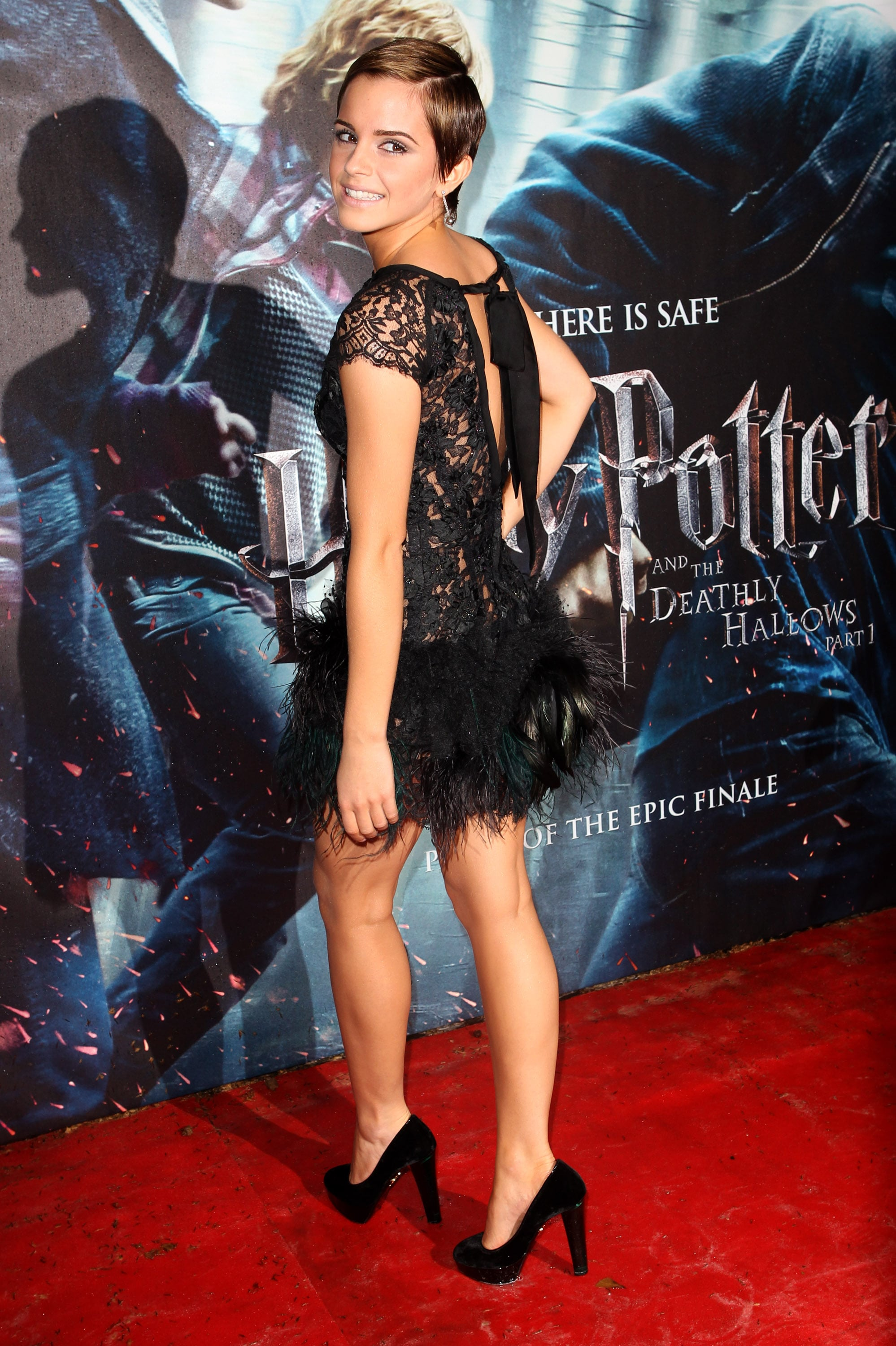 Pictures Of Emma Watson At Harry Potter And The Deathly