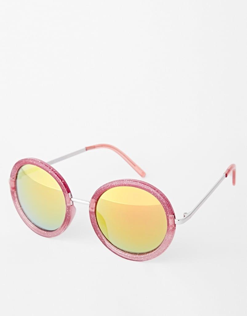 Trip Round Glitter Sunglasses