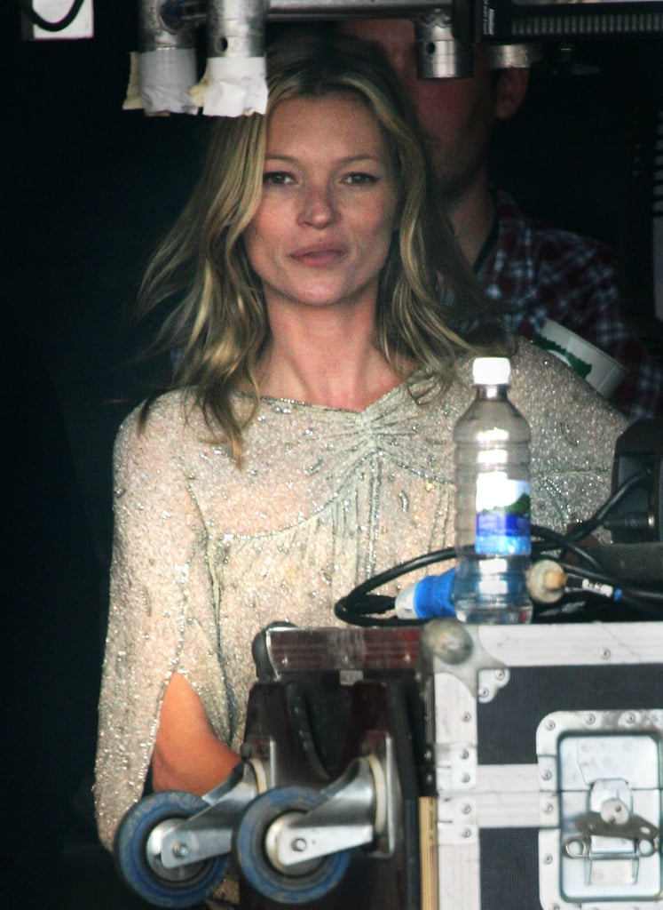 """When perching backstage in 2007, she picked a beaded top reminiscent of Almost Famous. This is a total """"do."""""""