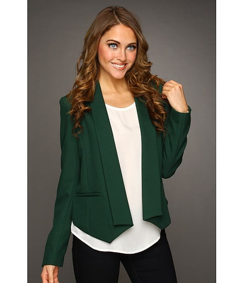 For A Look That Is Fresh And Festive Layer This Open Blazer By
