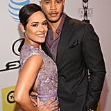 Pictured: Grace Gealey and Trai Byers