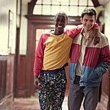 Ncuti Gatwa (left) as Eric Effiong