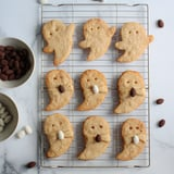 These Shortbread Ghost Cookies Are So Cute For Halloween