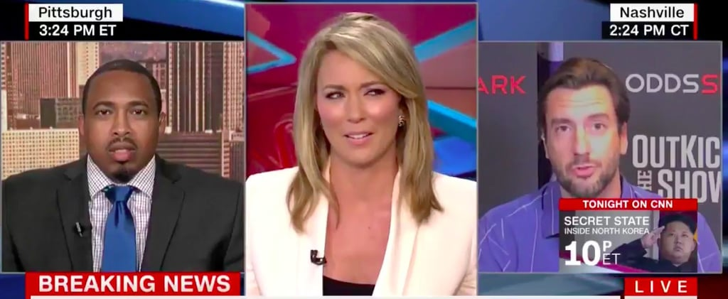 "This CNN Anchor Was Not Having It When Her Guest Went on a Rant About His Love of ""Boobs"""