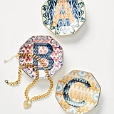 Chevron Monogram Trinket Dish