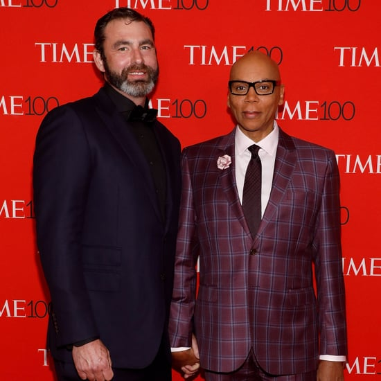 RuPaul and Georges LeBar at Time 100 Gala 2017
