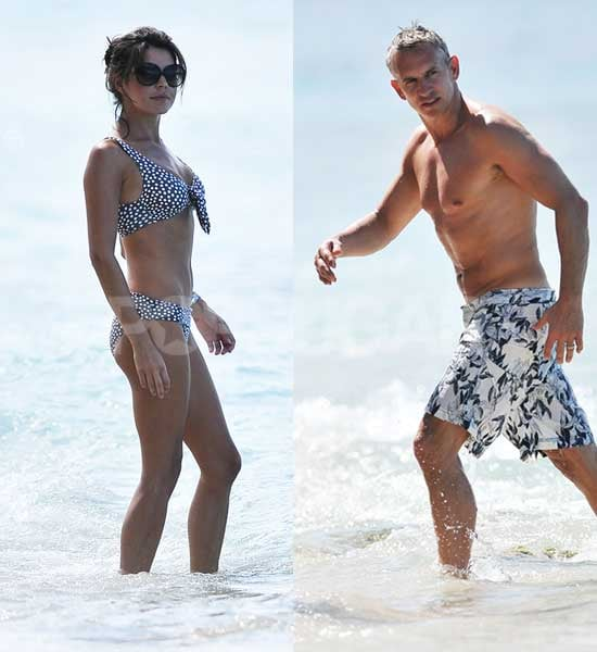 Pictures of Danielle Lineker in Bikini and Shirtless Gary Lineker