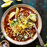 Crockpot Spicy Vegetarian Tortilla Soup