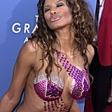 Baywatch actress Traci Bingham went all out at the 2001 show.