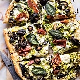 Brussels Sprout Mushroom Pizza with Crispy Prosciutto and Sage