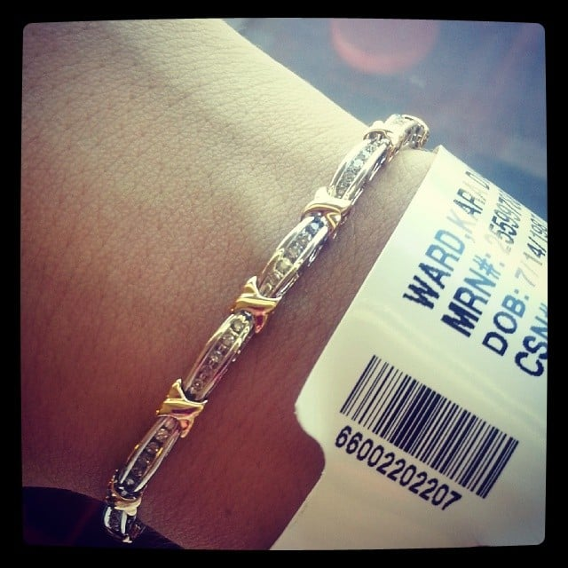 Some Arm Candy to Complement a Hospital Band