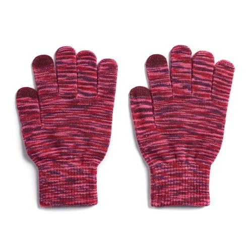 Women's SO Space-Dye Tech Knit Gloves