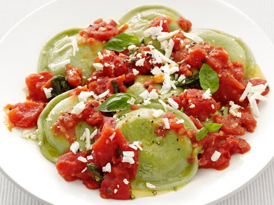 Fast & Easy Recipe For Spinach Ravioli With Tomato Sauce