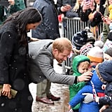 February: They Braved the Cold Weather to Meet With Children in Bristol, England