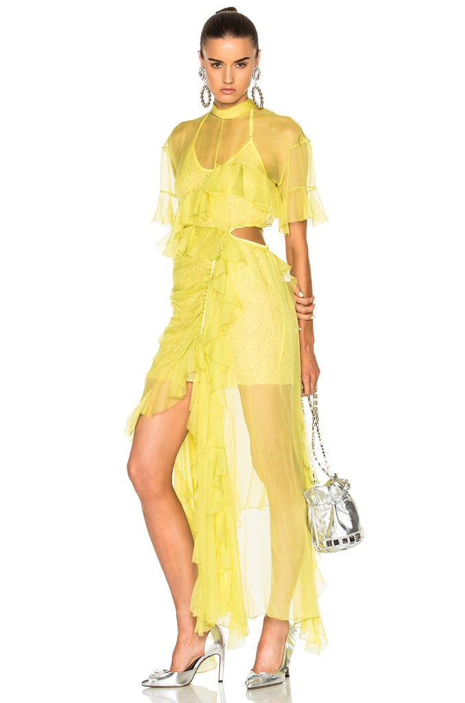 Preen yellow dress