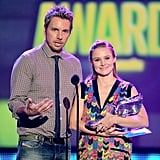 Dax Shepard and Kristen Bell shared the stage at the Do Something Awards.