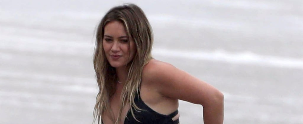 Hilary Duff Says Goodbye to Summer With a Scorching-Hot Bikini Outing