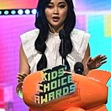 Lana Condor Hair at Kids Choice Awards 2019