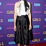 Cynthia Rowley at the Girls premiere.