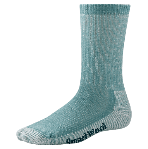 Normal socks just won't do on a hike.When the majority of your day is spent trekking around, trust that your feet are going to end up sore and sweaty — that is, unless you have a good pair of socks as your foundation. Smartwool pretty much sets the standard; its hiking crew socks ($18) are durable and provide arch support, and, because they are made from wool, the socks keep feet dry and cool.
