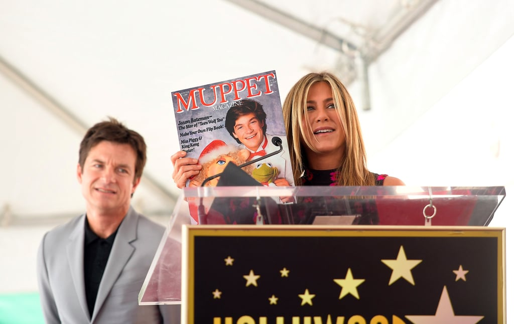 Jennifer Aniston at Jason Bateman's Walk of Fame Ceremony