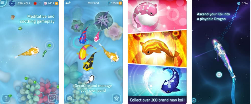 Zen koi 2 relaxing mindfulness apps popsugar for Koi zen facebook