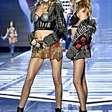 Martha Hunt and Stella Maxwell