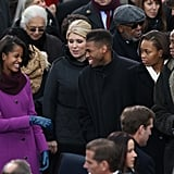 Celebrities at the 2013 Presidential Inauguration