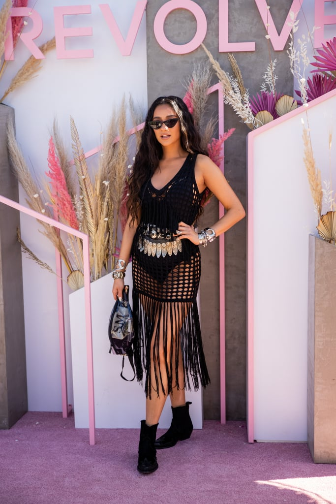 Shay Mitchell at Coachella 2019