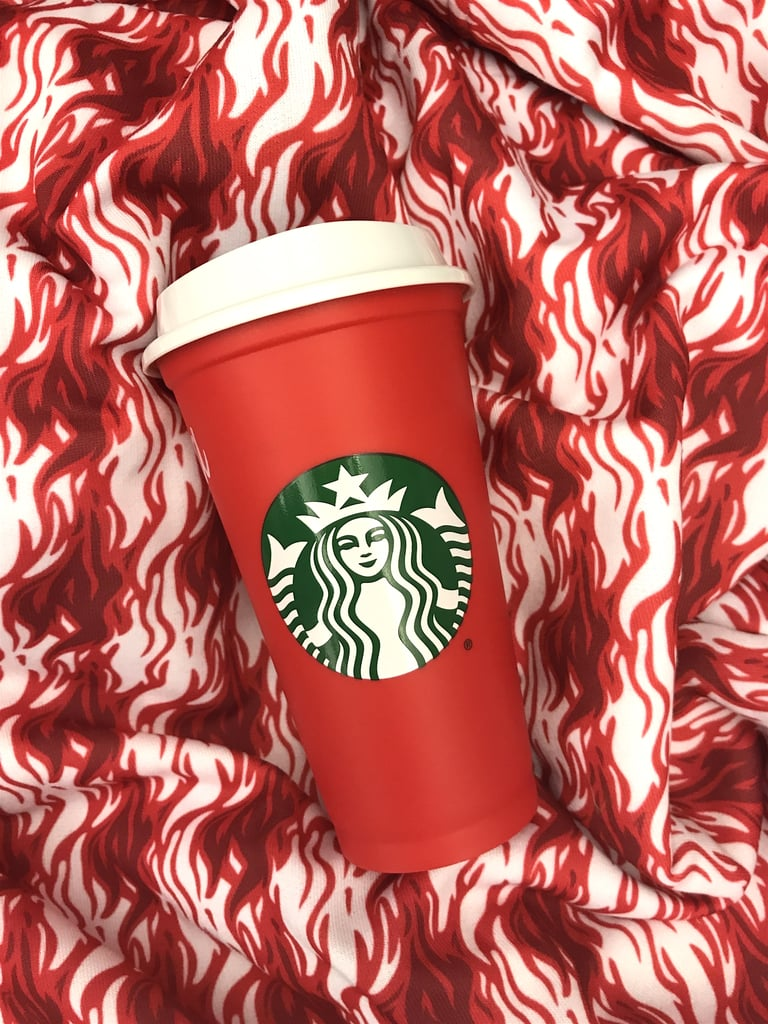 """The Cups Come in a Bright Red Hue That Practically Screams """"Happy Holidays!"""""""