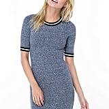 GoJane On Stripe Marled Knit Bodycon Dress
