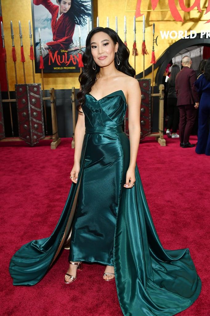 Xana Tang at the World Premiere of Mulan in LA