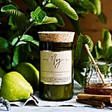 Mojo Reclaimed Wine Bottle Candle - French Pear ($40)