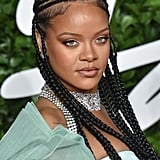 Rihanna's Monochromatic Matte Makeup