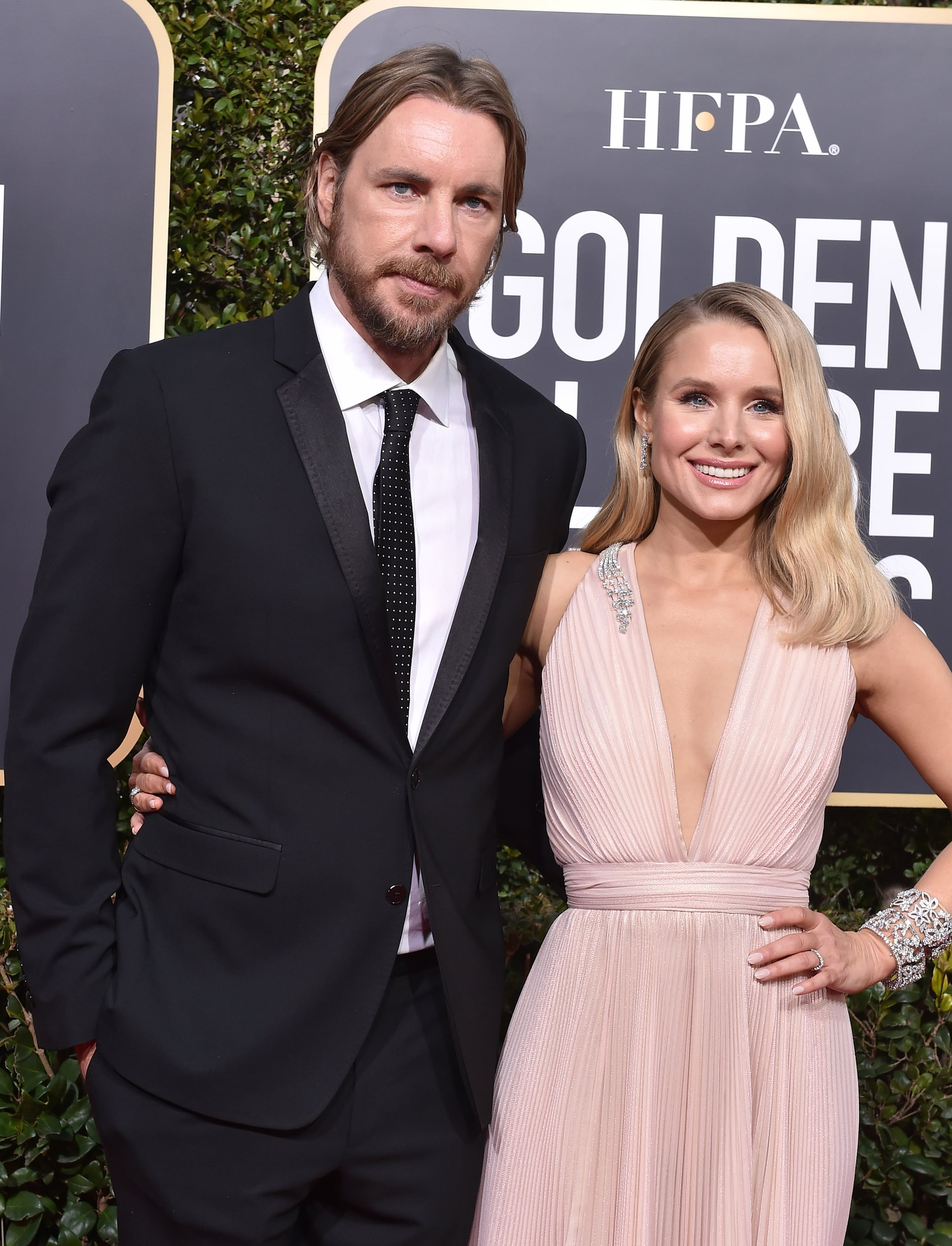 BEVERLY HILLS, CA - JANUARY 06:  Dax Shepard and Kristen Bell attend the 76th Annual Golden Globe Awards at The Beverly Hilton Hotel on January 6, 2019 in Beverly Hills, California.  (Photo by Axelle/Bauer-Griffin/FilmMagic)