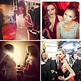 We've rounded up all of the best Instagram photos from our favorite celebrities, stylists, and brands for all the behind-the-scenes shots.