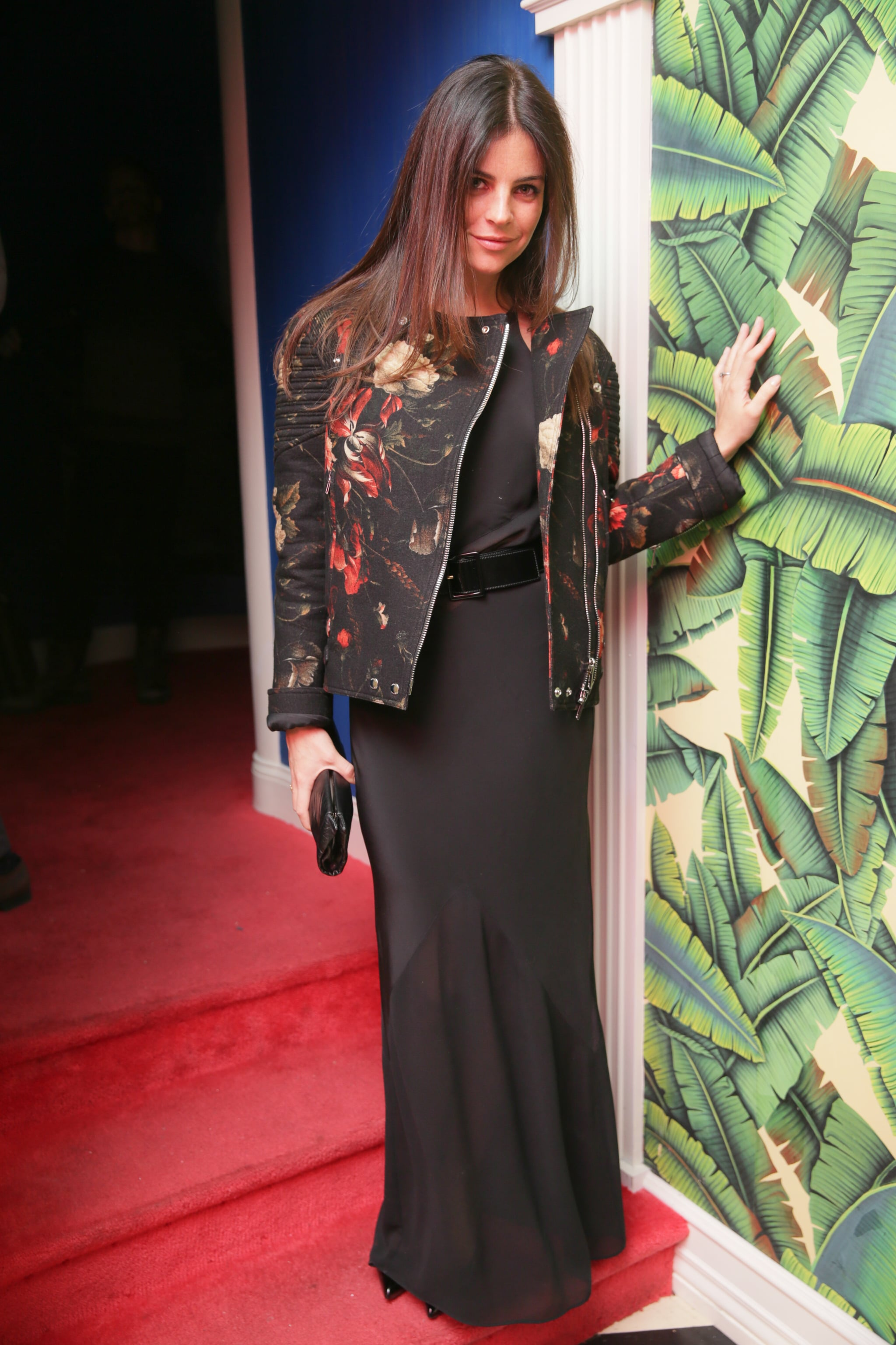 Julia Restoin Roitfeld at Style.com's issue launch event.