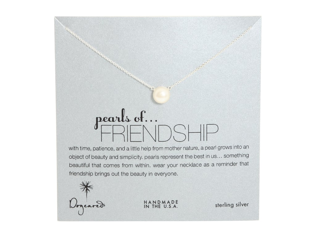 Dogeared Love Friendship Happiness Necklace ($48)