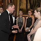 Prince William Plays Host For a Celebrity-Filled Fete