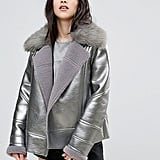 Urban Code Metallic Biker Jacket