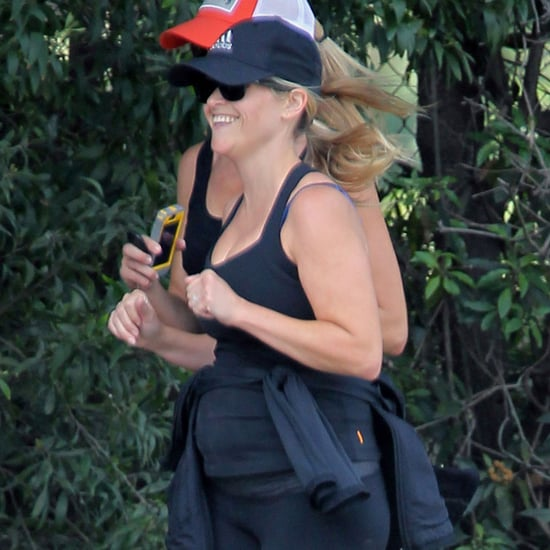 Reese Witherspoon Jogging With a Baby Bump Pictures