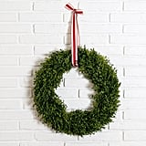 Everly Boxwood Wreath ($78)
