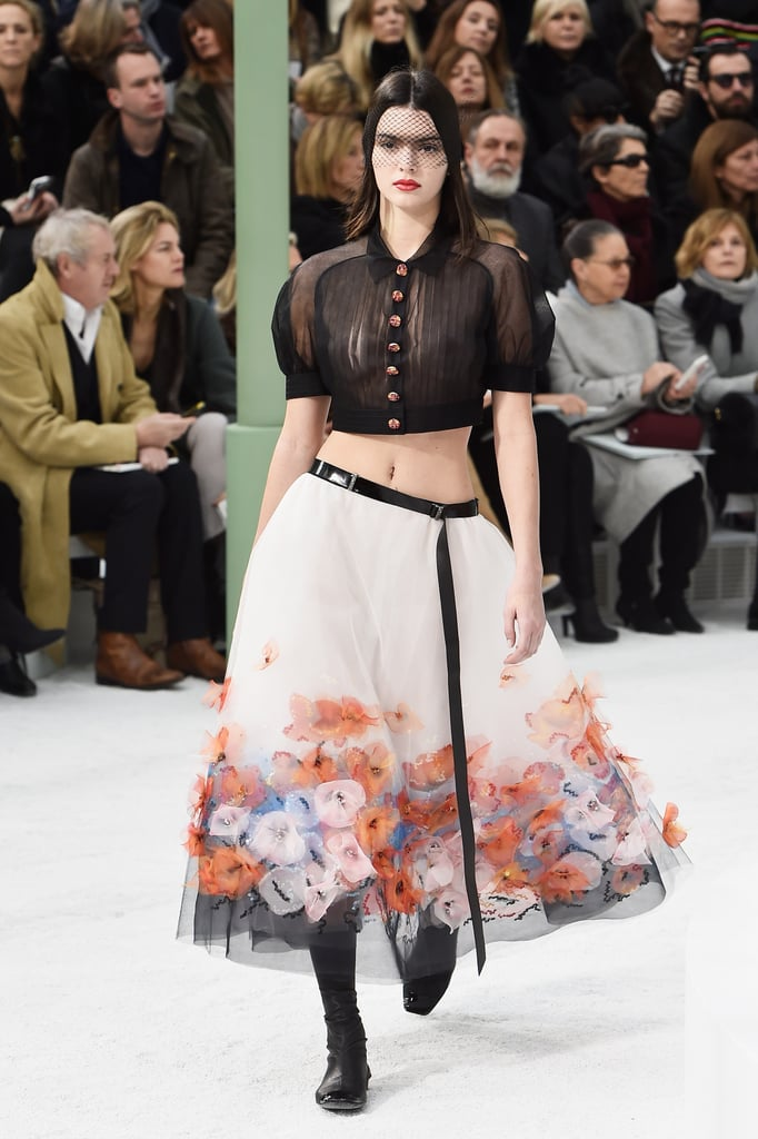 Kendall Made Her Spring '15 Couture Debut at Chanel