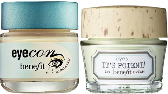 Comparing Benefit Eyecon to New Benefit It's Potent Eye Cream
