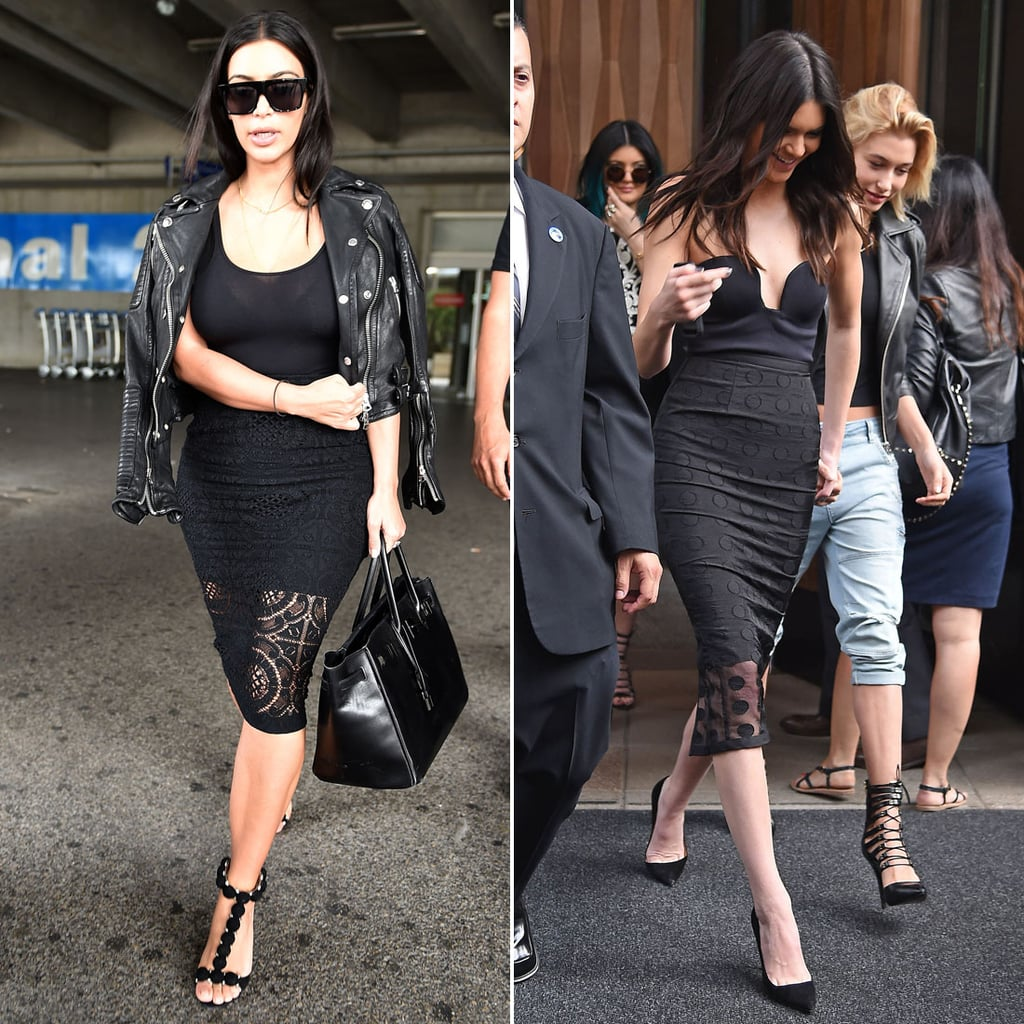 Who Wore a Black Skirt Set Better?