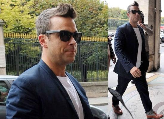 Robbie Williams In Paris