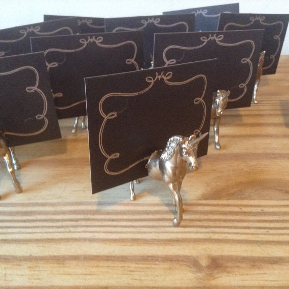 Unicorn Place Card Holders