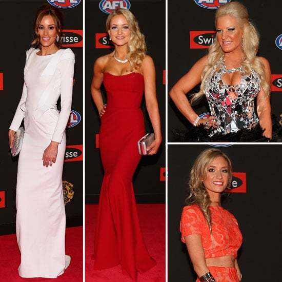 Red Carpet Round-Up from the WAGs at the 2012 Brownlow Medal: Rebecca Judd, Brynne Edelsten, Ella Keddie & more!