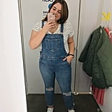 Denim Overalls and a T-Shirt